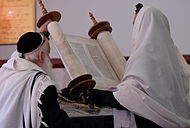 PikiWiki Israel 16920 Torah Reading.JPG